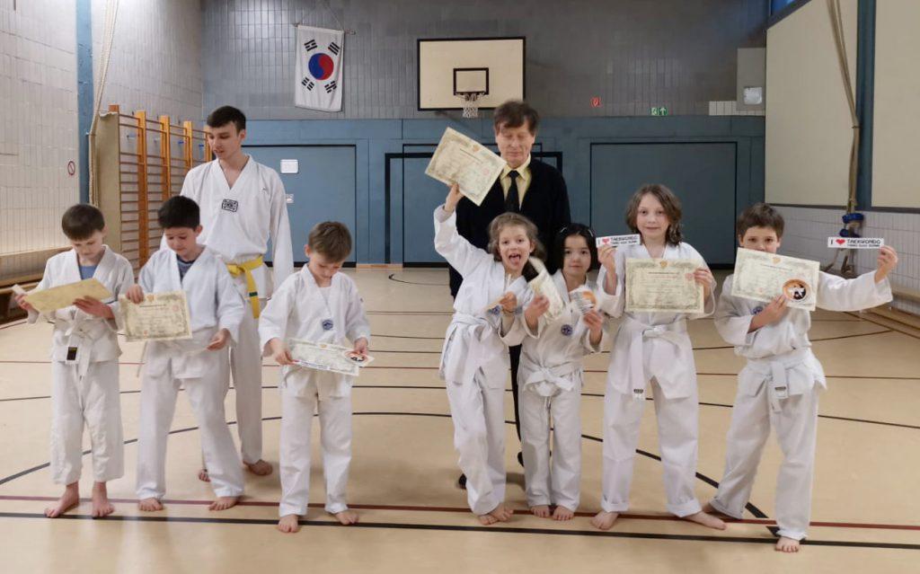 Tangsoo-Bonn Taekwondo Gürtelprüfung